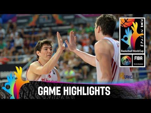 watch Turkey v Australia - Game Highlights - Round of 16 - 2014 FIBA Basketball World Cup