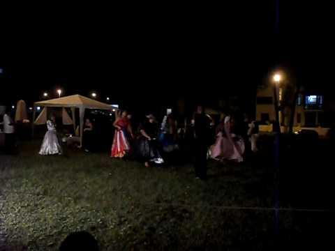Maria Padilha e seus Exús numa noite de magia na praça. Vídeo 2