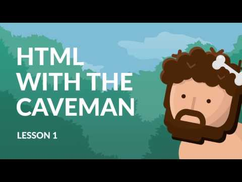 (13) HTML coding for kids and caveman - HTML, Title and Tags