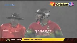 Tamim Iqbal 88 (61)* vs West Indies - Only T20