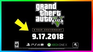 GTA 5 5th Year Anniversary! (Grand Theft Auto V - 5 Years Later)