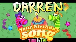 Tina & Tin Happy Birthday DARREN