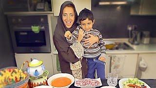 Traditional Saudi Dough & Meat for 6 | مطازيز