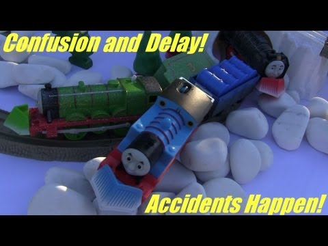 Thomas Accidents Happen Confusion and Delay Thomas Henry and Hiro