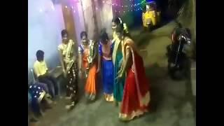 BATUKAMMA dance by GUMMADI SISTERS