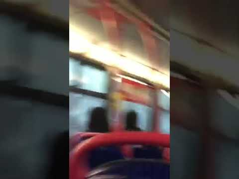 Man fingers his own arsehole on bus *VOMIT WARNING*