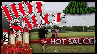 How HOT is a NEW Miken Hot Sauce? First 34 swings.