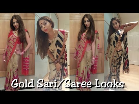 Xxx Mp4 Gold Sari Saree Looks 3gp Sex