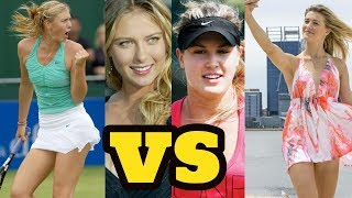 Eugenie Bouchard VS Maria Sharapova 2018 || Who is More Hottest and Beautiful Tennis Player
