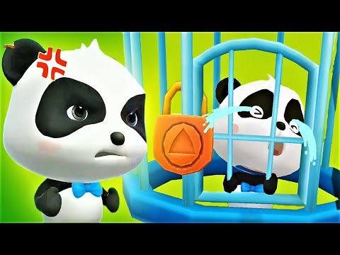 Help The Little Panda To Save The Town Play Puzzle Game Baby Panda Gameplay