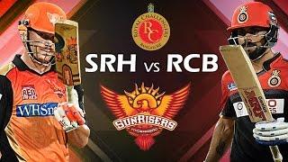 VIVO IPL 2017 Royal Challengers VS Sunrisers Hyderabad Highlights - RCB VS SRH 2017 (Don Bradman 17)