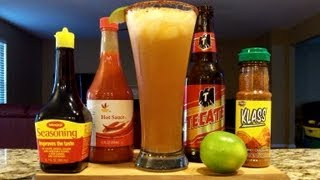 How To Make A Michelada Beer Cocktail / Mixed Drink ((RECIPE INCLUDED)) DJs BrewTube