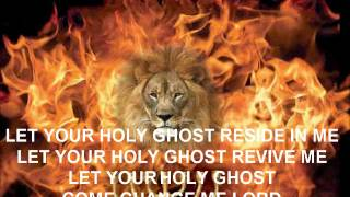 HOLY GHOST FIRE BURN
