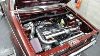 Dyno VW Golf I 2.0L 16V TFSI 326hp KMS MP25