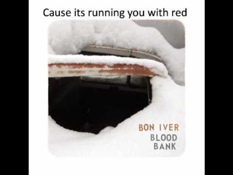 Bon Iver Blood Bank