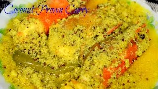 Easy prawn curry with coconut and Mustard paste (Bengali Chingri Macher recipe)