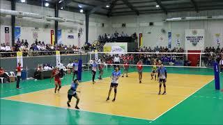 10th ASEAN School Games Men Volleyball Finals: Malaysia vs Indonesia