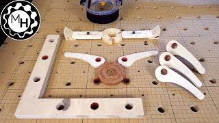 Making new and better CNC clamps (free templates)