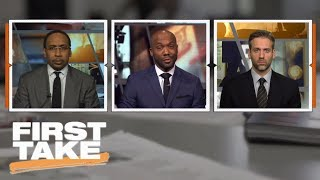 First Take reacts to several violent hits from Steelers vs. Bengals game | First Take | ESPN