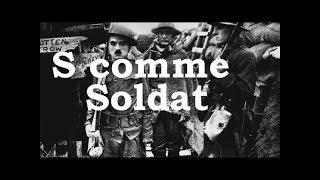 Charlie Chaplin -  S comme Soldat