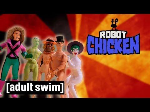 The Best Legion of Doom Moments Robot Chicken Adult Swim