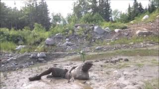 Messy fun in mud
