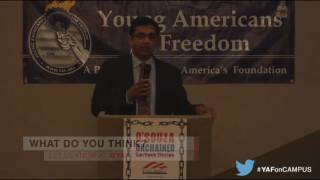 Dinesh D'Souza Speaks at SMU after the election