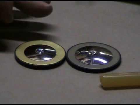 Gold sax pad installation demo
