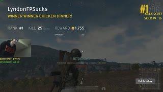 25 KILL WIN | PLAYERUNKNOWN
