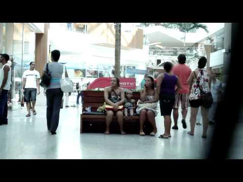 Flagra Irresistível em Salvador Shopping