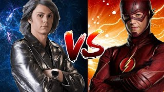 Flash vs Quicksilver | CW FLASH VS FOX QUICKSILVER | WHO IS THE FASTER LIVE ACTION SPEEDSTER? BATTLE