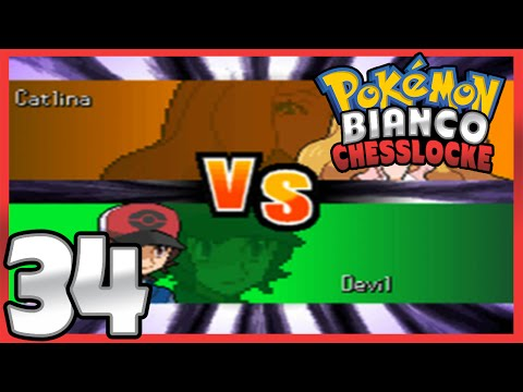 Pokémon Bianco Nuzlocke - Chesslocke   Parte 34   Catlina, superquattro