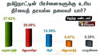 Makkal Manathil 2016 | Poll Survey (20/04/16) | Puthiya Thalaimurai TV