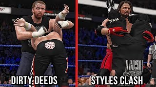 WWE 2K18 - 10 New Catching Finishers Dirty Deeds, Styles Clash & More! (Concept)