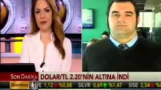 ALB Forex'ten Enver Erkan, Dolar/TL'yi değerlendiriyor. Bloomberg HT