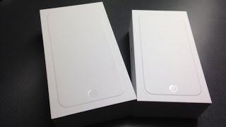 Unboxing the Apple iPhone 6 & iPhone 6 Plus