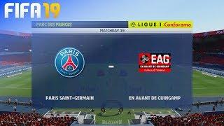 FIFA 19 - Paris Saint Germain vs. Guingamp @ Parc des Princes