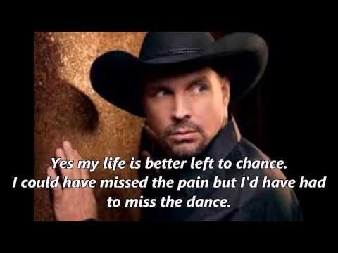 Garth Brooks The Dance With Lyrics