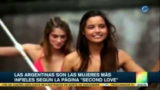 Argentinas son las mujeres más infieles