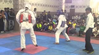 Taekwondo Fight @ Delhi Olympic Games