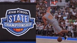 NBA 2K16 PS4 My Career - High School State Championship!