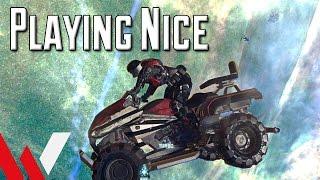 Playing Nice - PlanetSide 2 Fun, Fails, and ...Flash?
