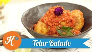 Resep Telur Balado | ALPIN REYNER