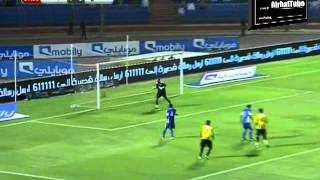 الهلال ( 0-3 ) الإتحاد / ذهاب نصف نهائي كأس الملك 2011