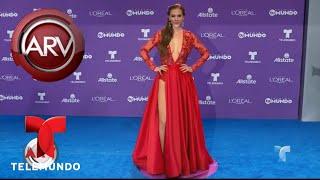 Aracely Arámbula se lució con su vestido en Premios Tu Mundo | Al Rojo Vivo | Telemundo