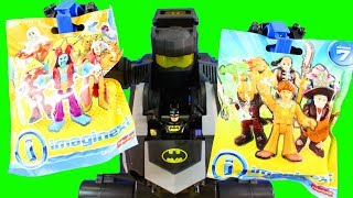 Batman Batbot Robot Delivers Imaginext Surprise Figures Series 1 And More To Superman
