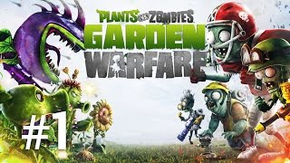 Plants vs Zombies Garden Warfare | Max in gradina | Episodul 1