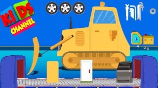 Bulldozer | toy factory | car make over | construction vehicles