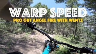 WARP SPEED! Pro GRT DH at Angel Fire with Steve Wentz