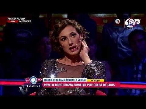 Andrea Dellacasa reveló las razones por las que se peleó con Janis Pope SQP